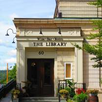 photo of the library wine bar & bistro restaurant