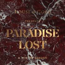 photo of house of gods presents paradise lost restaurant