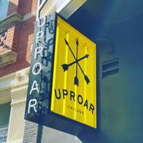 photo of uproar chicago restaurant