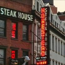 photo of old homestead steakhouse- new york city restaurant