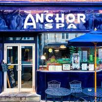 photo of the anchor spa restaurant