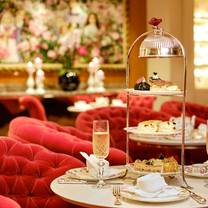 photo of afternoon tea at the rose lounge, sofitel london st. james restaurant