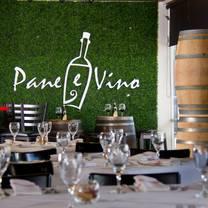 photo of pane e vino restaurant