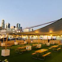 photo of redline rooftop restaurant