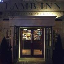 photo of lamb inn norwich restaurant