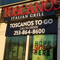 photo of toscanos italian grill restaurant