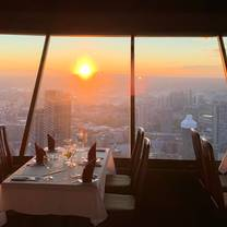 photo of top of vancouver revolving restaurant restaurant