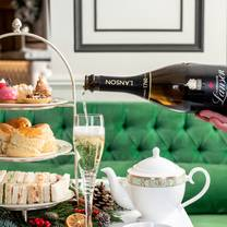 photo of afternoon tea at the park room restaurant