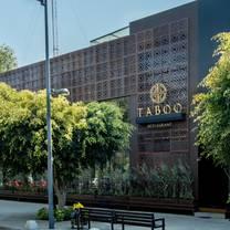 foto de restaurante taboo cdmx