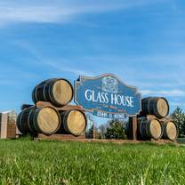 photo of glass house estate winery restaurant