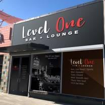 photo of level one bar & lounge restaurant