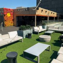 photo of azure rooftop lounge at the 9 restaurant