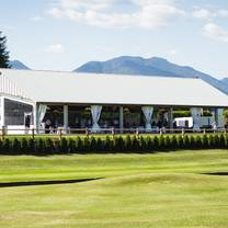 photo of creekside lounge & patio at chilliwack golf club restaurant