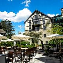 photo of old mill toronto restaurant