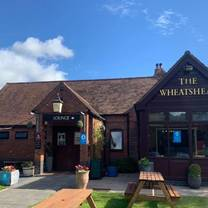photo of the wheatsheaf inn restaurant