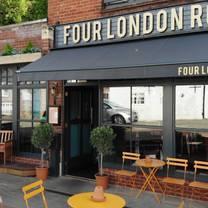 photo of four london road restaurant