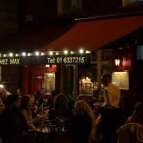 photo of chez max restaurant