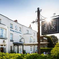 photo of the six restaurant at kings arms hotel restaurant