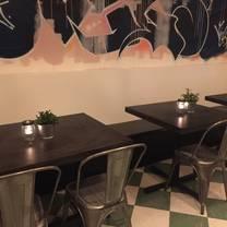 photo of pink gorilla pizzeria restaurant