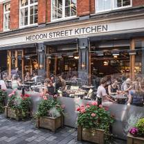 photo of heddon street kitchen restaurant