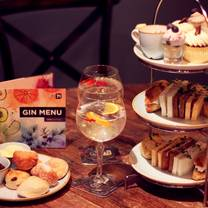 photo of gin 71 - afternoon tea - renfield street restaurant