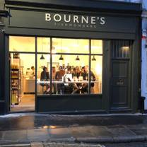 photo of bourne's fishmongers and seafood bar restaurant