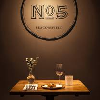 photo of no5 london end restaurant