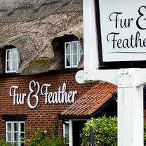 photo of afternoon tea by woodforde's, at the fur & feather inn restaurant