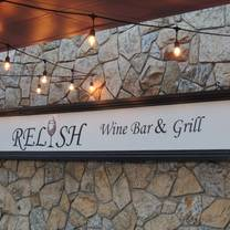 photo of relish wine bar & grill restaurant