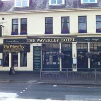 photo of the waverley hotel - afternoon tea restaurant