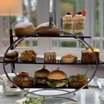 photo of afternoon tea at tullyglass house hotel restaurant