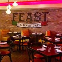 photo of feast italian kitchen restaurant