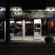 photo of restaurant christophe restaurant