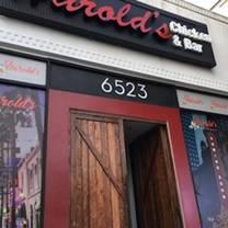 photo of harold's chicken & bar restaurant