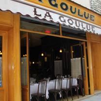 photo of la goulue restaurant