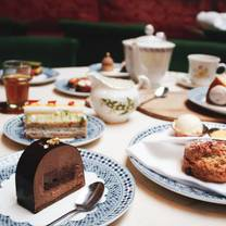 photo of afternoon tea at momo restaurant