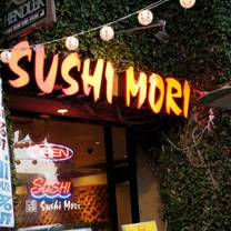 photo of sushi mori restaurant