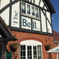 photo of the bell inn pensax restaurant