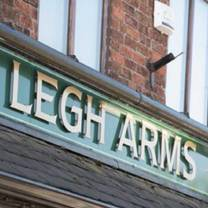 photo of the legh arms restaurant