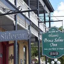 photo of sidecar at prince solms inn restaurant