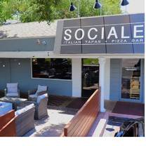 photo of sociale italian tapas + pizza bar restaurant