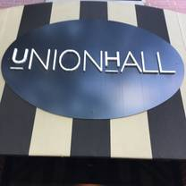 photo of union hall restaurant
