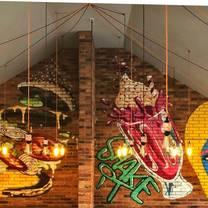 photo of urban barbq restaurant