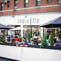 photo of copinette restaurant