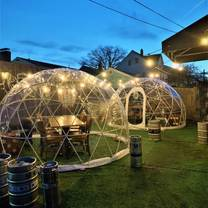 photo of igloos at article 24 restaurant
