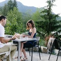 photo of dining at nita lake lodge restaurant