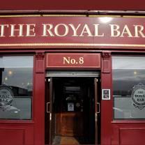 photo of the royal bar restaurant
