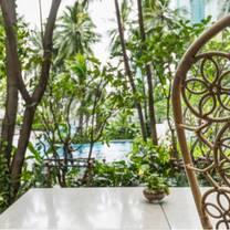 photo of flow oasis pool lounge - chatrium residence sathon bangkok restaurant