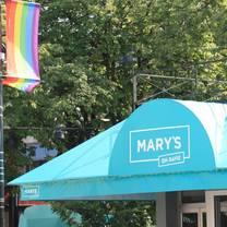 photo of mary's on davie restaurant