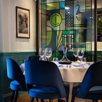 foto van chapter one restaurant